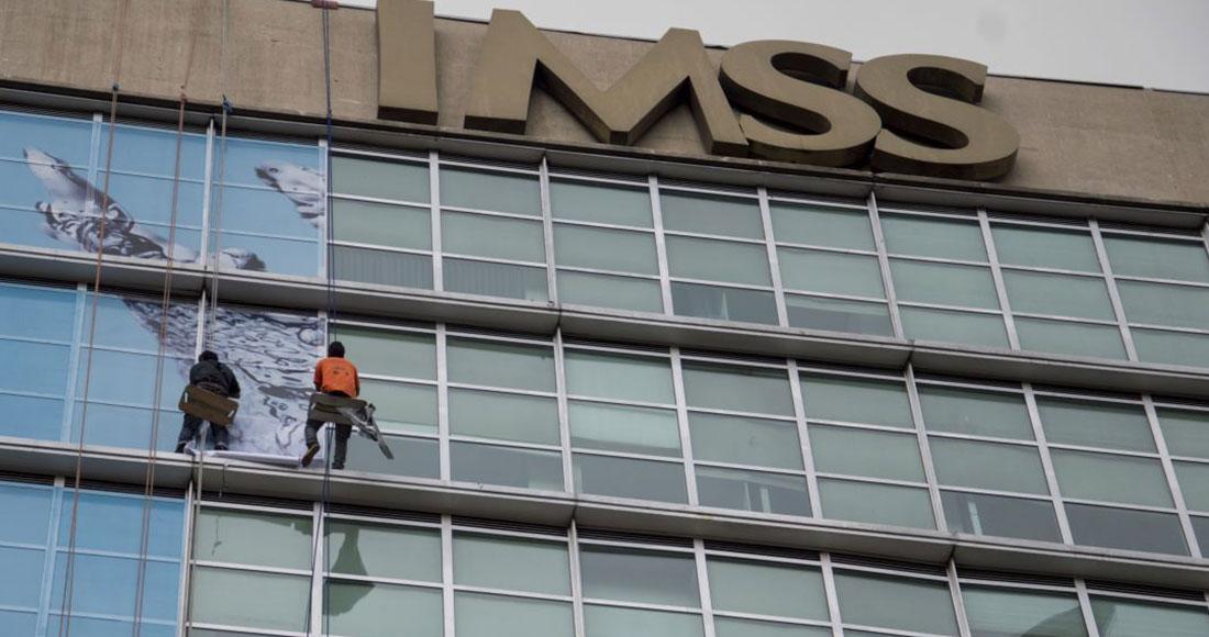 Oficinas del Instituto Mexicano del Seguro Social (IMSS), ubicadas sobre Paseo de la Reforma en la Ciudad de México. Foto: Galo Cañas, Archivo Cuartoscuro