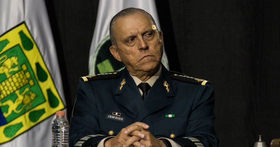 Salvador Cienfuegos Zepeda, exsecretario de la Defensa Nacional.