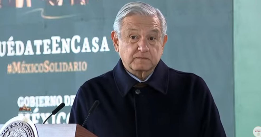 El Presidente AMLO se encuentra en Bavispe, Sonora, donde tendrá un encuentro con la familia LeBarón-Langford. Foto: Captura de pantalla