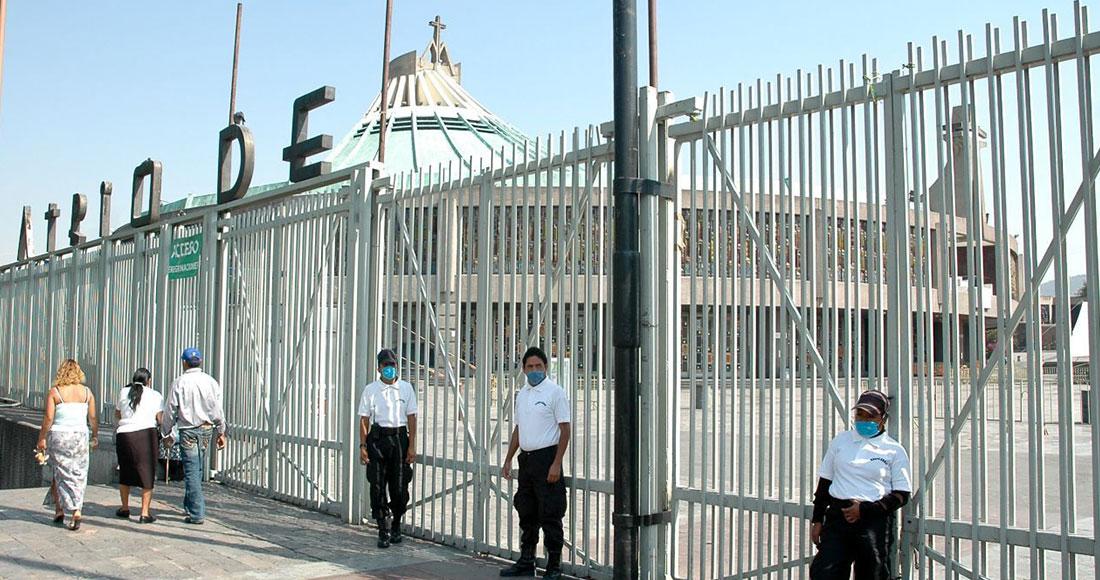 La Basílica de Guadalupe fue cerrada debido a la pandemia de la COVID-19. Imagen ilustrativa. Foto: Rodolfo Angulo, Cuartoscuro