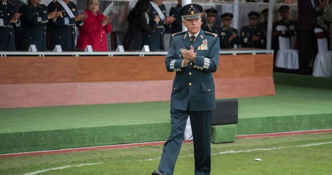 El exsecretario de la Defensa Nacional. Salvador Cienfuegos Zepeda.