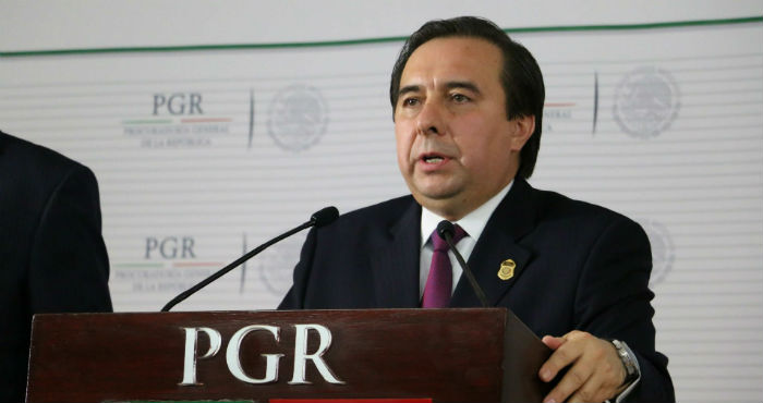 Tomás Zerón de Lucio, extitular de la Agencia de Investigación Criminal.
