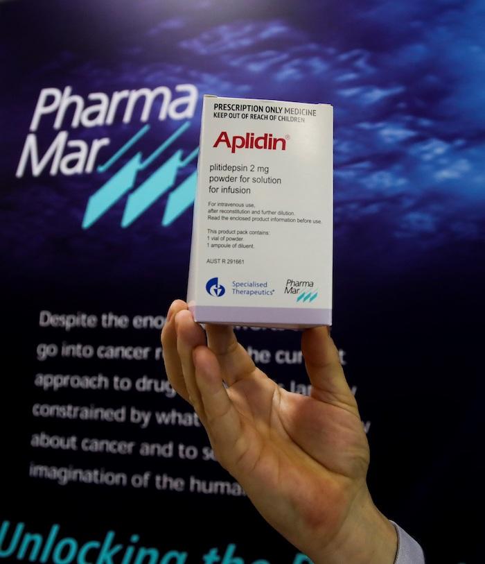 La biofarmacéutica española PharmaMar está ya negociando con diferentes organismos reguladores el inicio de los ensayos de Fase III previstos.