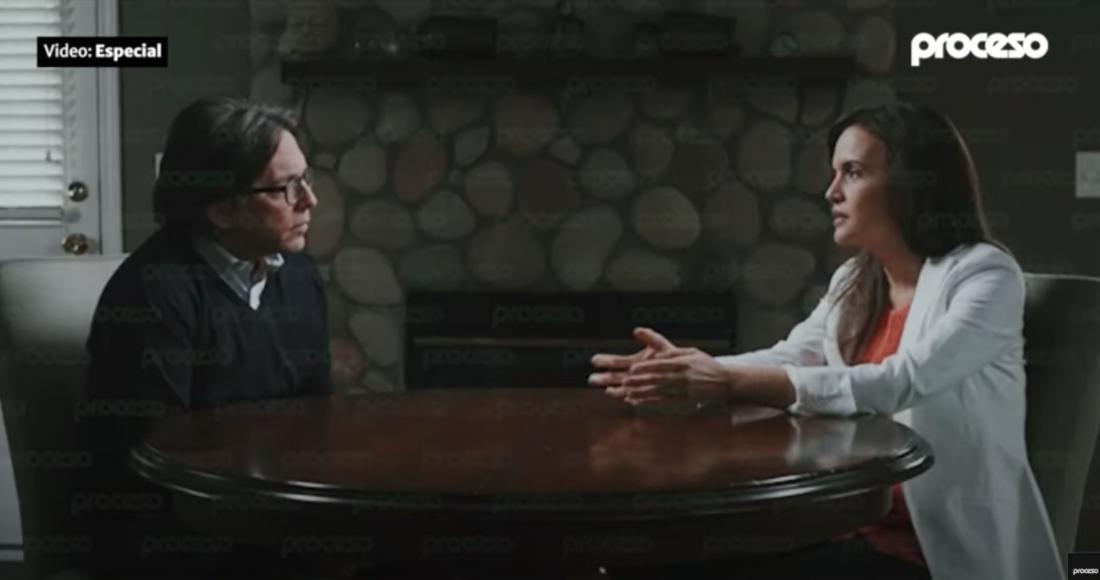 Clara Luz Flores Carrales, candidata del Movimiento de Regeneración Nacional (Morena) a la gubernatura de Nuevo León, en una conversación con Keith Raniere, líder de la secta NXIVM.