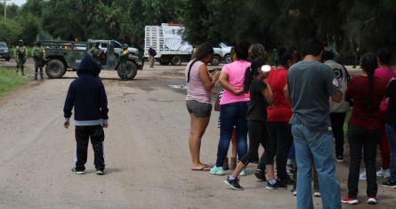 El hallazgo de cuerpos en Celaya, Guanajuato.