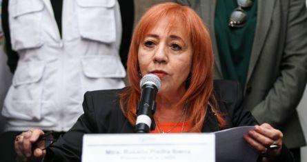 Rosario Piedra Ibarra, titular de la CNDH.