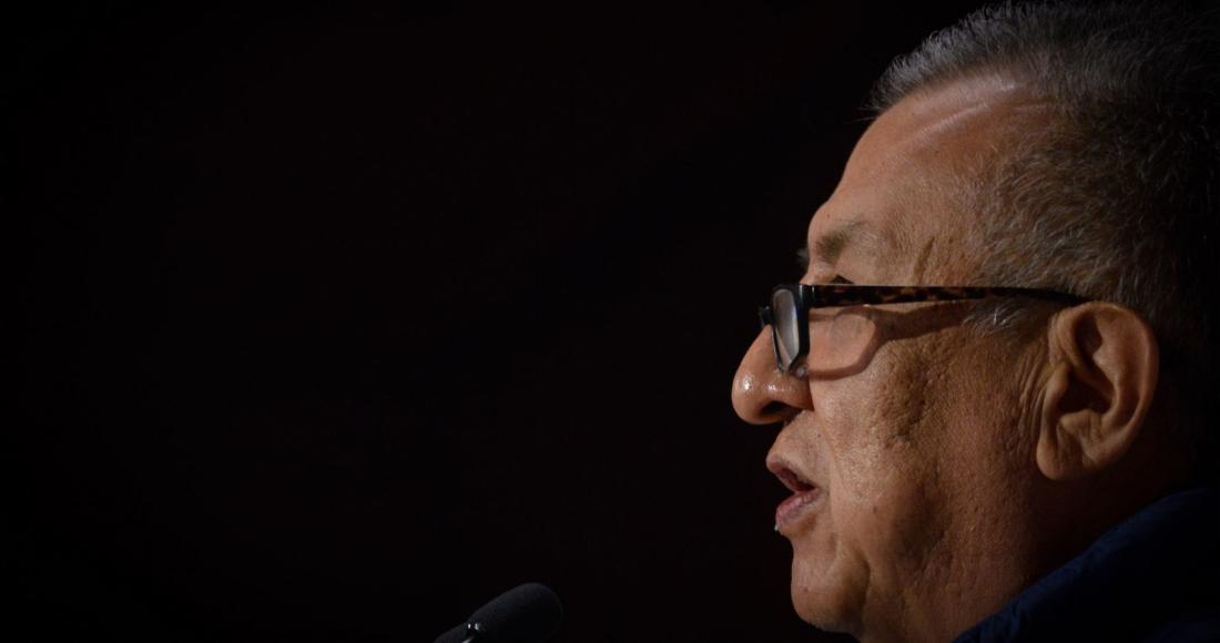 Benjamín Saúl Huerta Corona, Diputado federal de Morena, quien se deslindó de los hechos por los que ayer fue detenido por presunto abuso a un menor.
