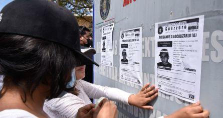 Búsqueda de jóvenes desaparecidos en Chilpancingo, Guerrero.