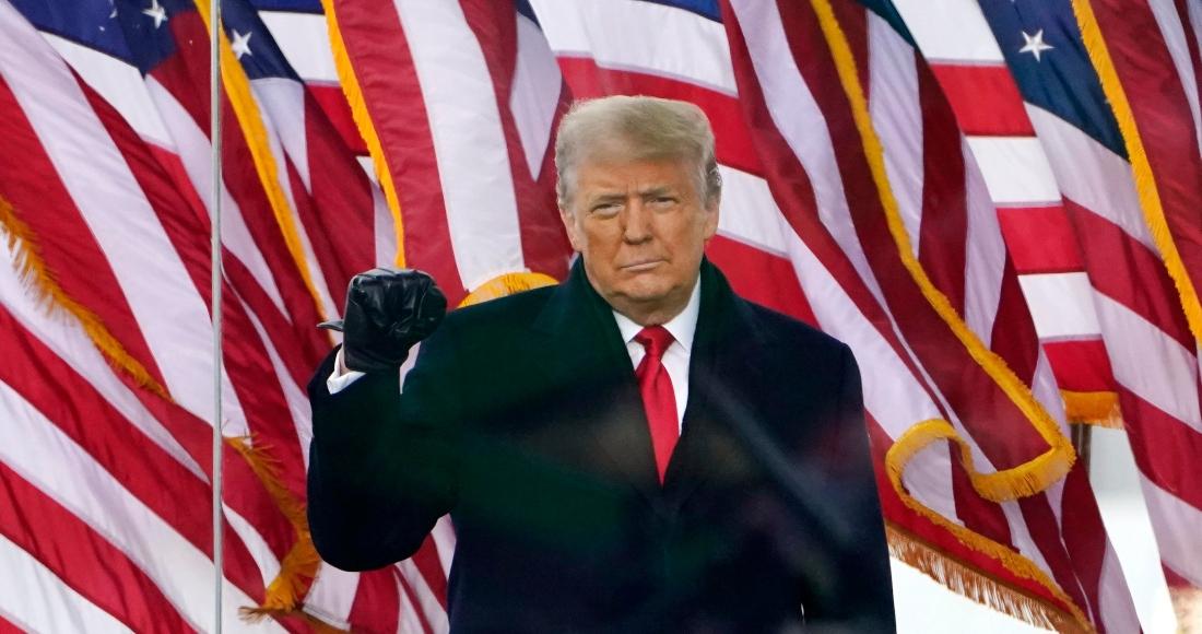 El expresidente de EU, Donald Trump. Foto: AP.