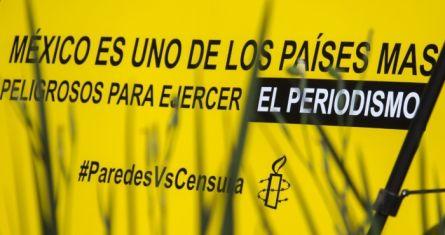 Conferencia de Amnistía Internacional sobre censura.
