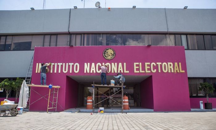 Edificio del Instituto Nacional Electoral (INE).