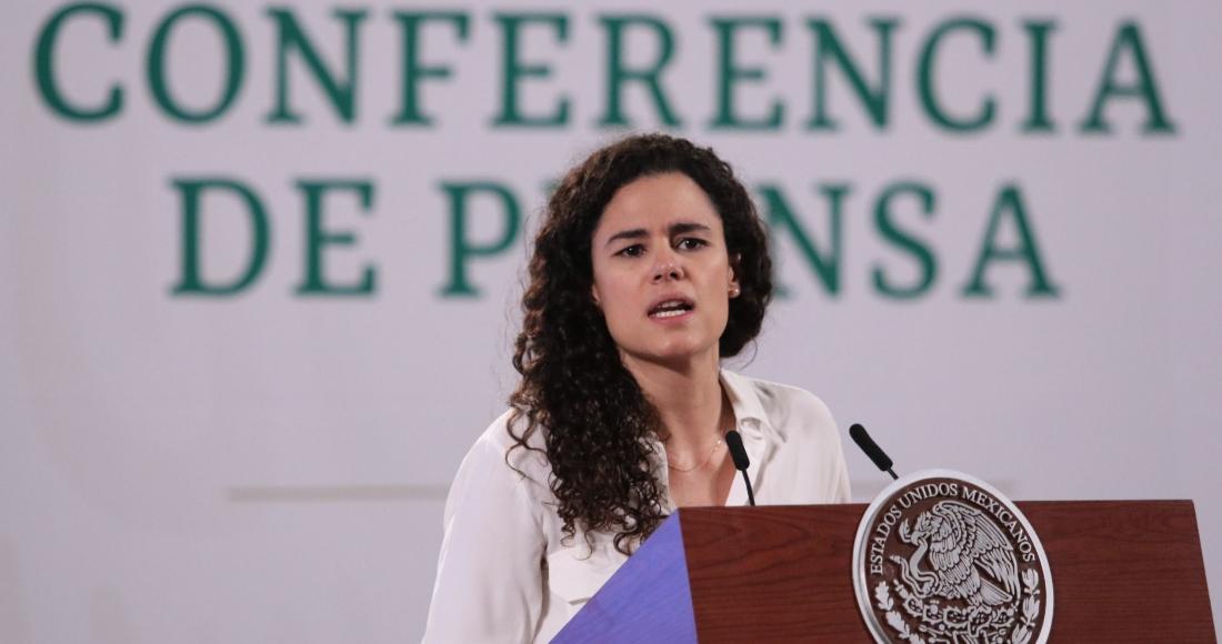 Luisa María Alcalde, titular de la Secretaría del Trabajo y Previsión Social.