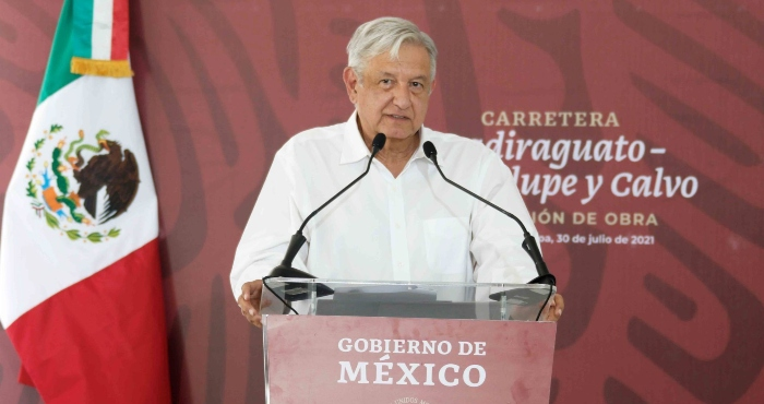 El Presidente Andrés Manuel López Obrador en Badiraguato, Sinaloa.