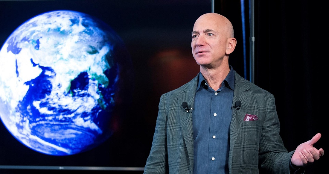 Jeff Bezos se prepara para viajar al espacio