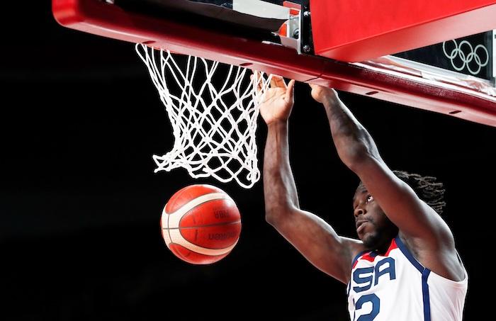 basquet eu - EU vence 87-82 a Francia y gana el oro de basquetbol en los Juegos de Tokio 2020