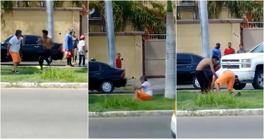 VIDEO: Limpiaparabrisas noquea a conductor que habría rechazado su servicio en Sonora