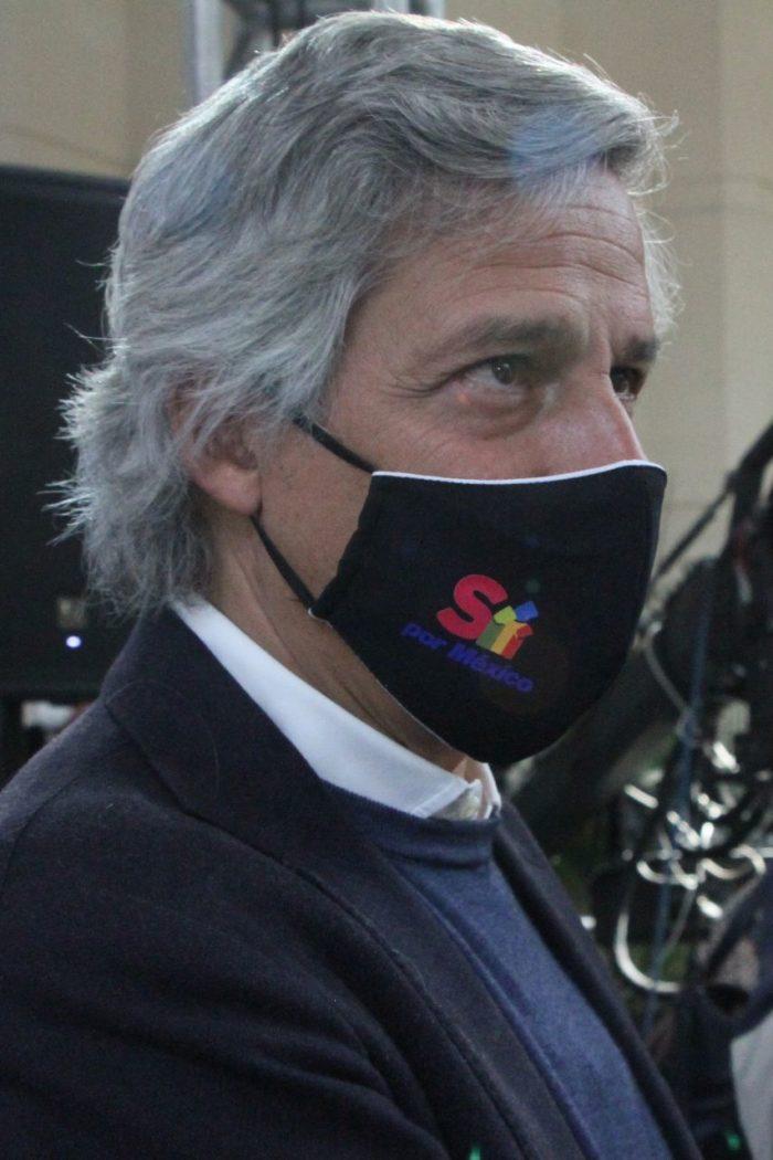 Claudio X. González Guajardo, fundador de Mexicanos Contra la Corrupción y la Impunidad.
