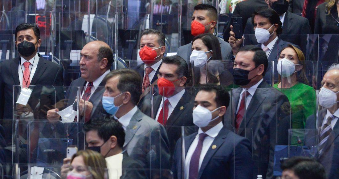 PRI, PAN y MC destacan diferencias con el Gobierno durante el arranque de Legislatura