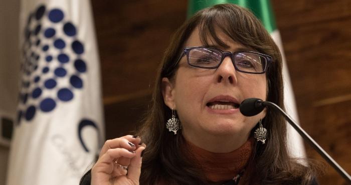 María Elena Álvarez-Buylla Roces, directora del Consejo Nacional de Ciencia y Tecnología (Conacyt).