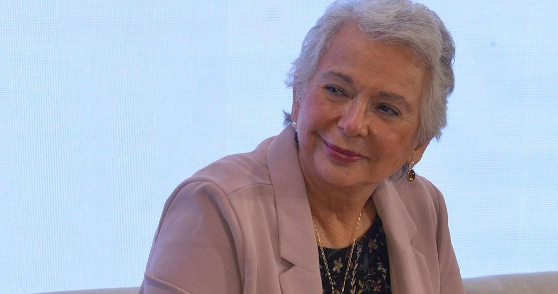 Olga Sánchez Cordero expresa apoyo a Beatriz Gutiérrez