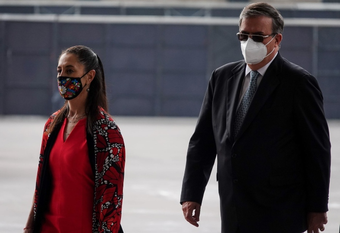 sheinbaum y ebrard - México está preparado para ser gobernado por una mujer, asegura Claudia Sheinbaum