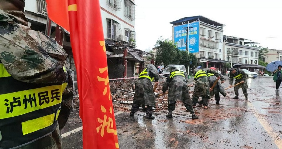 Sismo en China