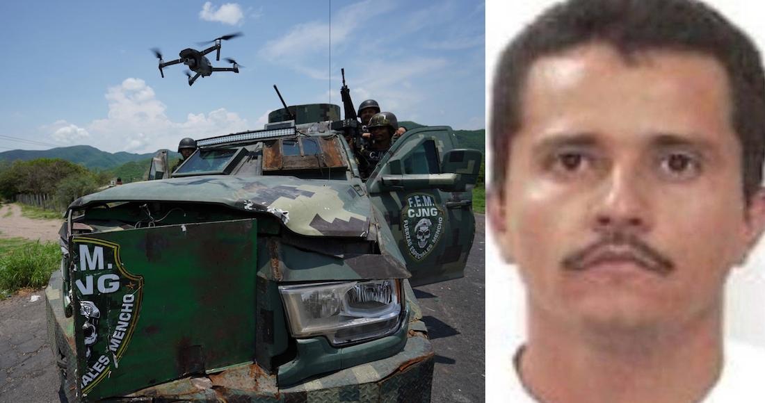 """México y EU acuerdan aplicar Código Negro contra CJNG. Objetivo: la caída de """"Mencho"""""""