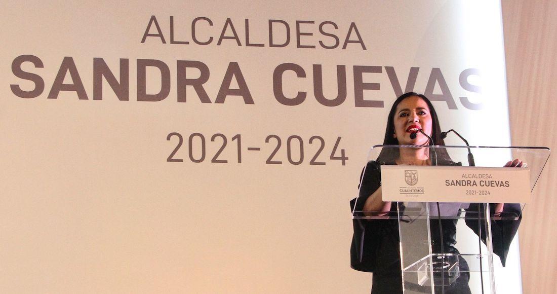 Monreal la ayudó, ganó por PRI-PAN. Sandra Cuevas ha hecho carrera… en el escándalo