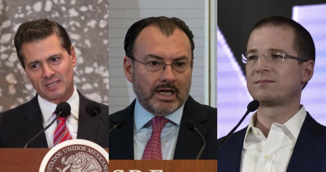 Milenio dice que la FGR ahora sí va por EPN, Videgaray, Anaya y más políticos