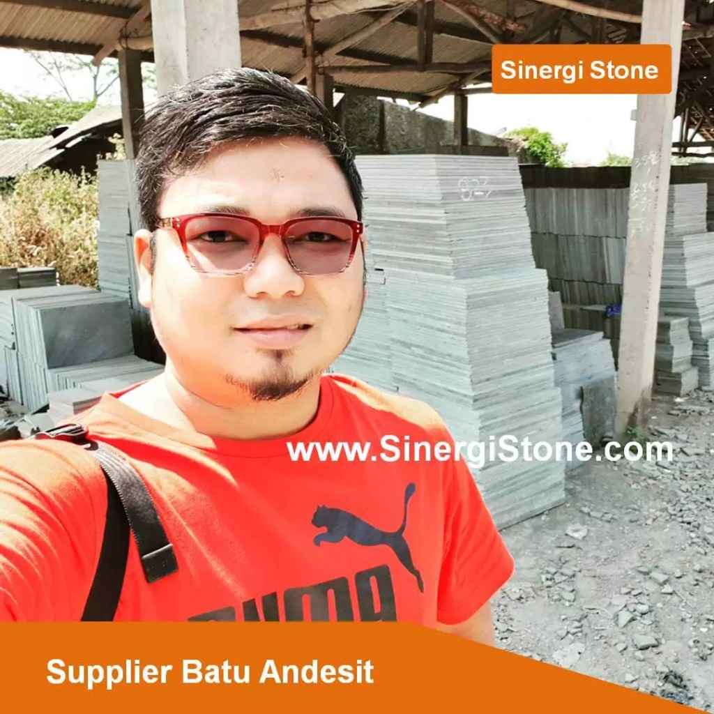 supplier batu andesit