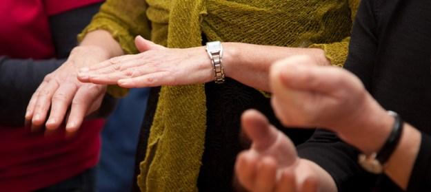 SongTribe choir hands