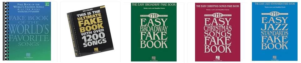 Music Faking Books on Amazon