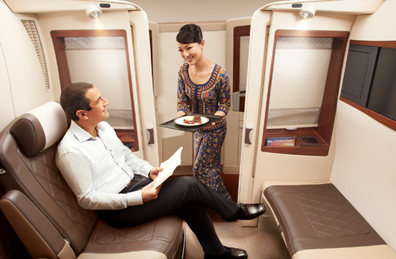 Travel in our Suite  Singapore Airlines