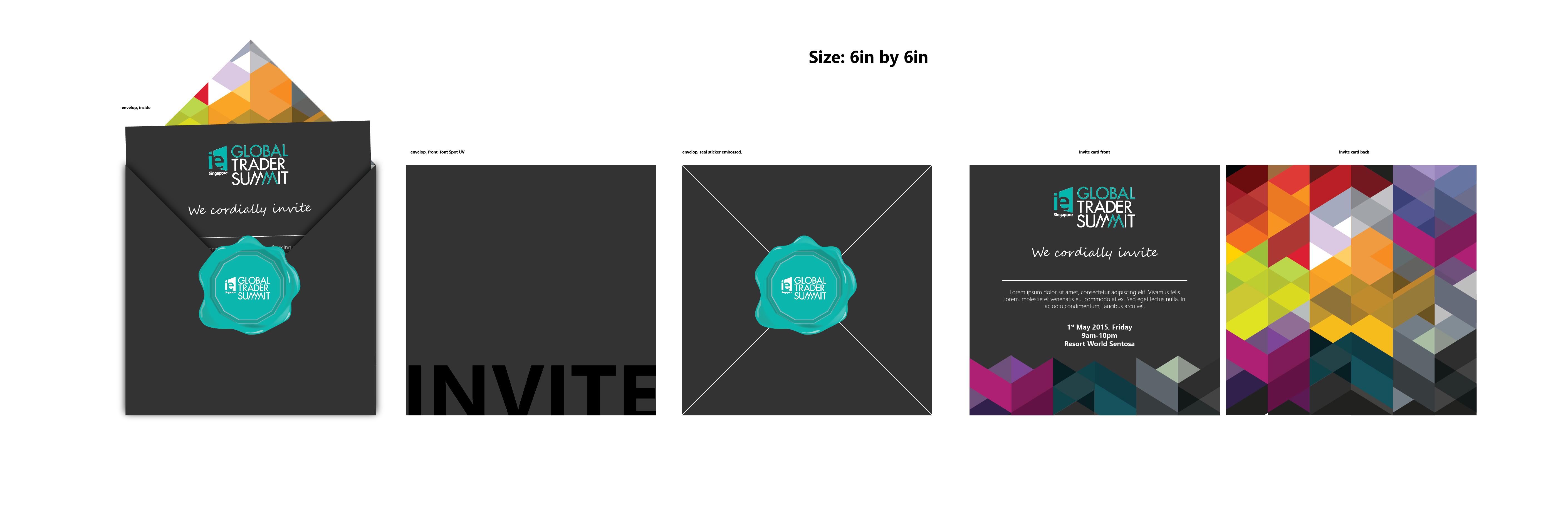 Invitation Design Programme Booklet Design