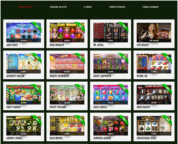 888 Tiger casino games