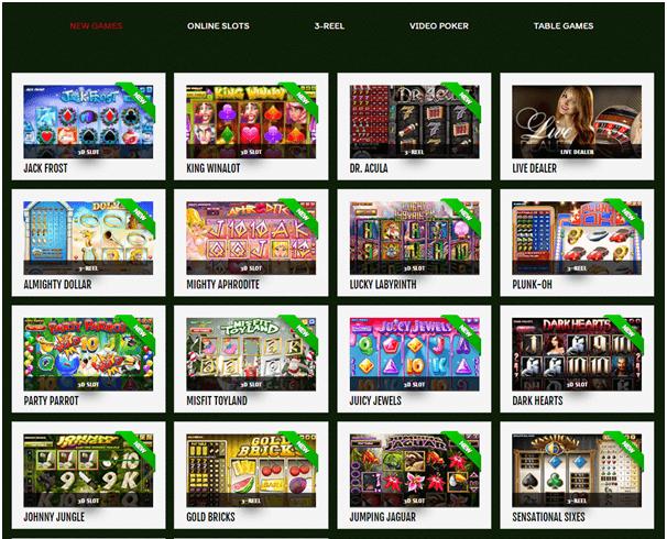 888 Tiger casino games