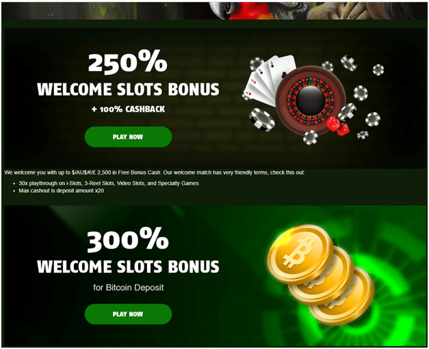 888 Tiger online casino bonus offers