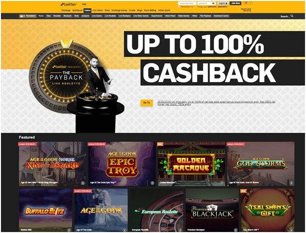 Betfair casino for singapore players