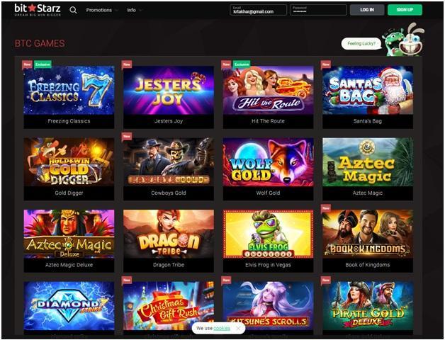 Bitstarz - Singapore online casino- BTC Games to play