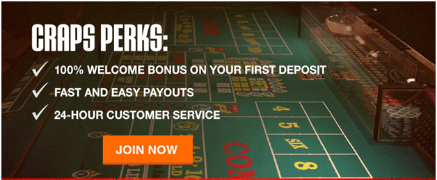 Bonuses to play casino craps