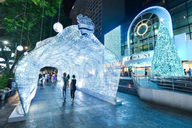 Christmas Shopping at Orchard Road