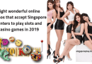 Eight wonderful online casinos that accept Singapore punters to play slots and casino games in 2019