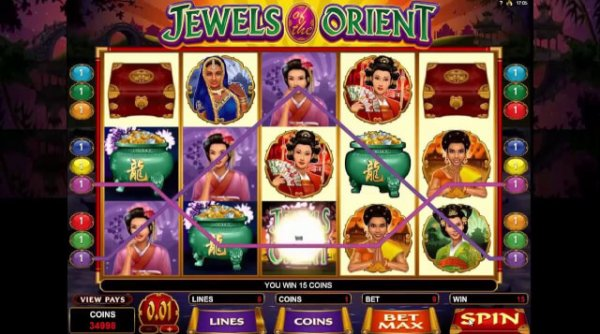 Jewels Orient slot game