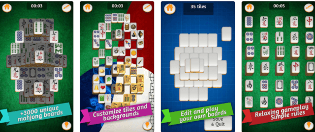 Mahjong Gold app