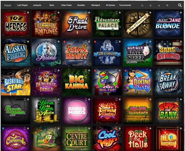 Platinum play slot games