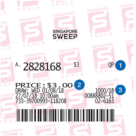 How to play Singapore Sweep lottery