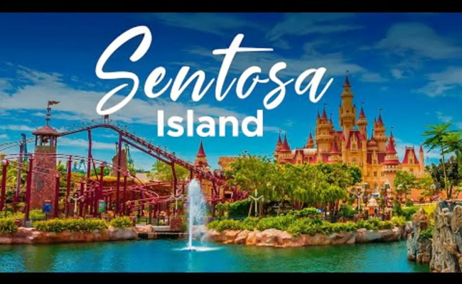Spend your time leisurely at Sentosa Island