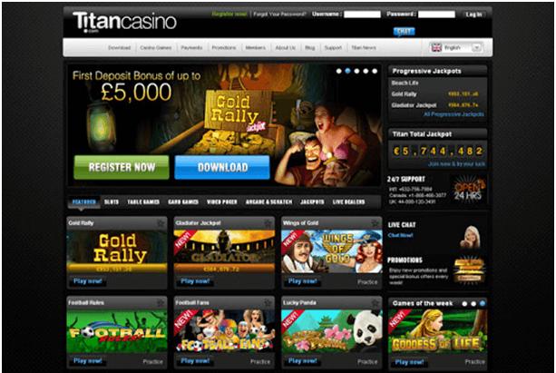 Titan casino Singapore