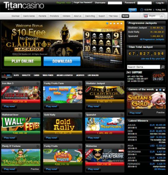 Titan casino bonus Singapore