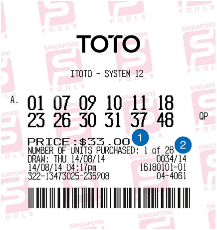 Toto Ticket